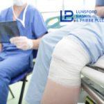 work-related knee injury